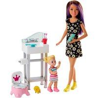 Conjunto Barbie Babá Pinico e Pia - Mattel
