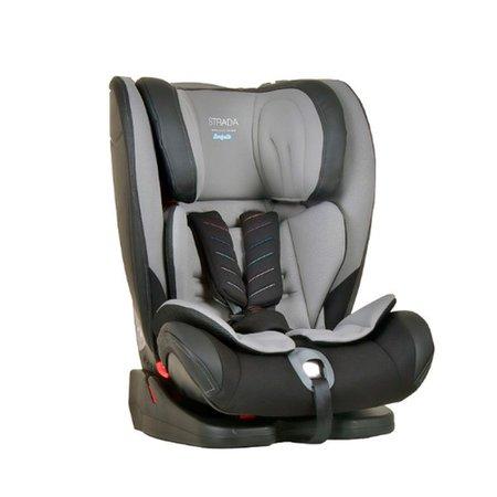 Cadeira Auto Strada Gray Black Cinza e Preto 9 a 36kg - Burigotto