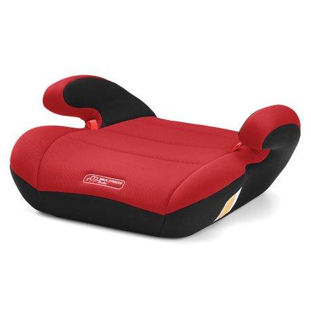 Assento para Auto Safe Booster 22-36Kg Vermelho - Multikids Baby