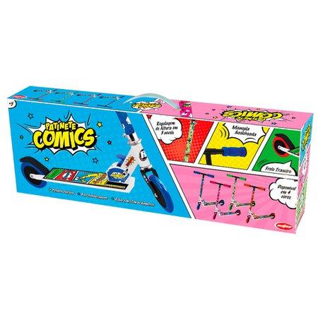 Patinete Comics Vermelho - Astro Toys