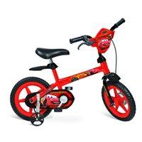 Bicicleta Aro 12 com Rodinhas Disney Carros - Bandeirante
