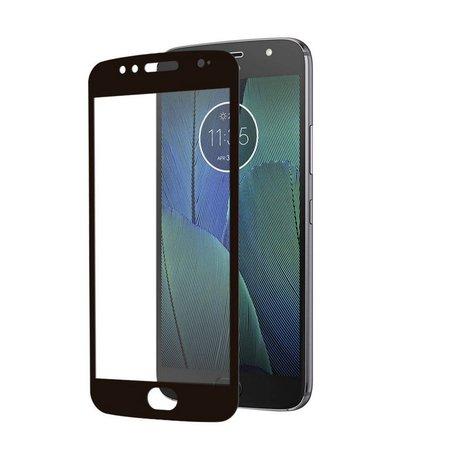 Película Coverage Color para Motorola Moto G5S Plus - Preta - Gorila Shield