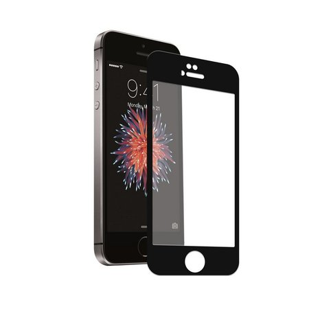 Película Coverage Color para Iphone 5, 5s e SE - Preta - Gorila Shield