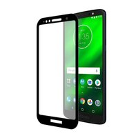 Película Coverage Color para Moto G6 Play - Preta - Gorila Shield