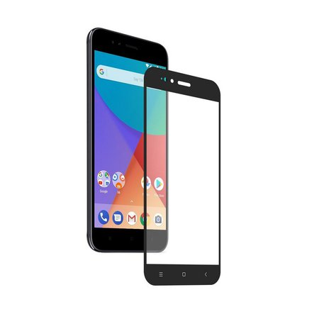 Película Coverage Color para Xiaomi A1- PRETA - Gorila Shield