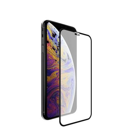 Película Coverage Color para Iphone XS Max - Preta - Gorila Shield