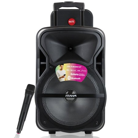 Caixa de Som CM 600 BT Frahm USB/SD/P10/AUX Radio FM
