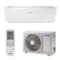 Ar Condicionado Split Wind Free 8-Polos 12000BTUs Samsung Digital Inverter Quente/Frio - AR12NSPXBWKXAZ