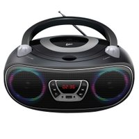 Caixa de Som Colors Boombox Leadership Bluetooth USB/SD/AUX Radio FM/CD Bivolt/Pilhas 1472