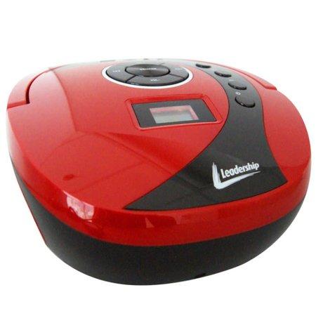 Rádio MP3 Boombox USB SD AUX Vermelho Leadership Bivolt/Pilhas 1470