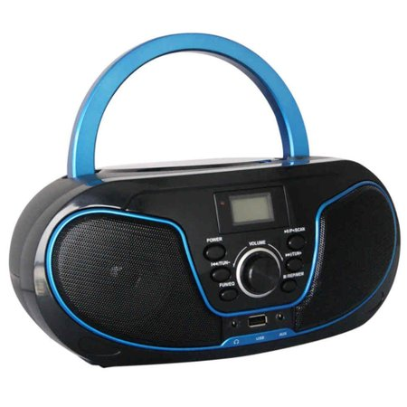 Rádio Bluelife Boombox Bluetooth 3.0 USB SD AUX CD Leadership Bivolt/Pilhas 1471