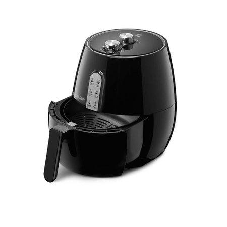 Fritadeira Elétrica Air Fryer Preta Sem Óleo 3,5L - 1400W com Cesto Multilaser - CE049