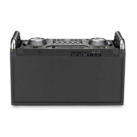 Caixa De Som Dj Station Bluetooth/Fm/Sd/Usb Com Led Multilaser - SP257