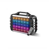 Caixa De Som 6 Em 1 Portátil 100W Rms Bluetooth Com Microfone Multilaser - SP251