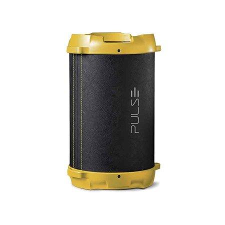 Caixa De Som Bazooka Acabamento De Couro 40W Pulse - SP265