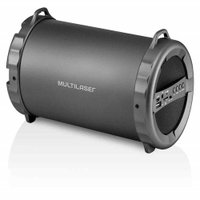 Caixa De Som Bazooka Bluetooth/Fm/Sd/Usb/P2 20W Multilaser - SP233