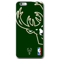 Capa de Celular NBA - Iphone 6 Plus 6S Plus - Milwaukee Bucks - D19