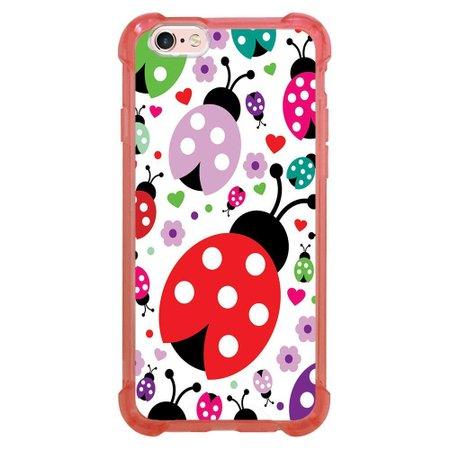 Capa Intelimix Anti-Impacto Rosa Apple iPhone 6 6s Cute - GR08