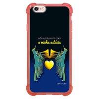 Capa Intelimix Anti-Impacto Rosa Apple iPhone 6 6s Nostalgia - NT10