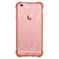 Capa Intelimix Anti-Impacto Rosa Apple iPhone 6 6s Rendas - TP284