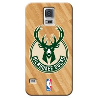 Capa de Celular NBA - Samsung Galaxy S5 - Milwaukee Bucks - B19