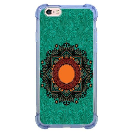 Capa Intelimix Anti-Impacto Azul Apple iPhone 6 6s Mandala - AT24