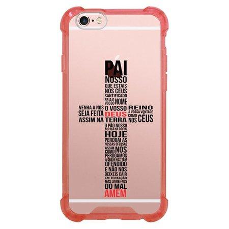 Capa Intelimix Anti-Impacto Rosa Apple iPhone 6 6s Religião - TP348