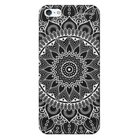Capa Grafite Personalizada para Apple iPhone 5 5S SE - Mandala - GF03