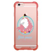Capa Intelimix Anti-Impacto Rosa Apple iPhone 6 6s Fabulous Unicónio - TP309