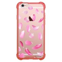 Capa Intelimix Anti-Impacto Rosa Apple iPhone 6 6s Pétalas - TP36