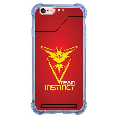 Capa Intelimix Anti-Impacto Azul Apple iPhone 6 6s Games - GA47