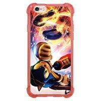 Capa Intelimix Anti-Impacto Rosa Apple iPhone 6 6s Games - GA33