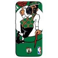 Capa de Celular NBA - Samsung Galaxy S6 Edge - Boston Celtics - D02
