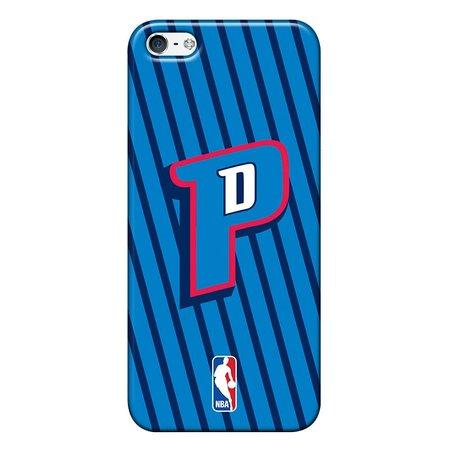 Capa de Celular NBA - Iphone 5C - Detroit Pistons - E17