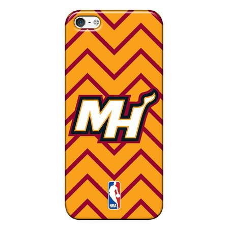 Capa de Celular NBA - Iphone 5C - Miami Heat - E16
