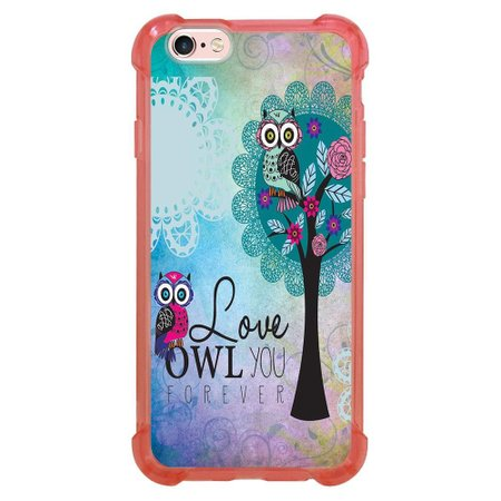 Capa Intelimix Anti-Impacto Rosa Apple iPhone 6 6s Love - LV17