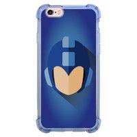 Capa Intelimix Anti-Impacto Azul Apple iPhone 6 6s Games - GA15