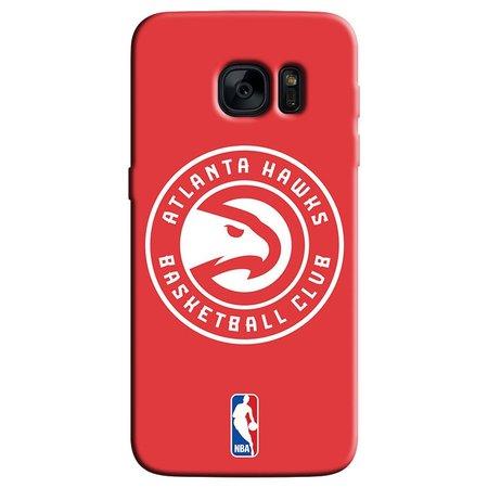 Capa de Celular NBA - Samsung Galaxy S6 Edge - Atlanta Hawks - A01