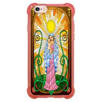 Capa Intelimix Anti-Impacto Rosa Apple iPhone 6 6s Religião - RE19