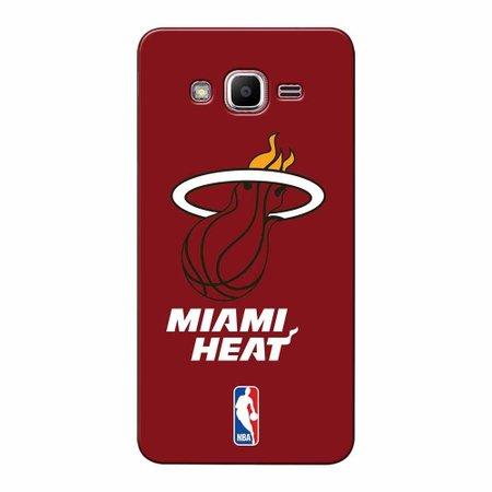 Capa de Celular NBA - Galaxy J2 Prime - Miami Heat - A19