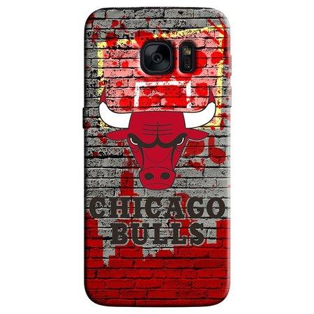 Capa de Celular NBA - Samsung Galaxy S6 Edge - Chicago Bulls - F06