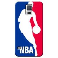 Capa de Celular NBA - Samsung Galaxy S5 - Logo Man - F01