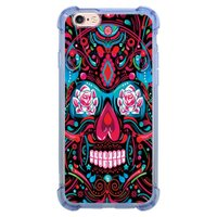Capa Intelimix Anti-Impacto Azul Apple iPhone 6 6s Caveira - CV12