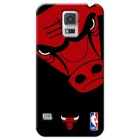 Capa de Celular NBA - Samsung Galaxy S5 - Chicago Bulls - D05