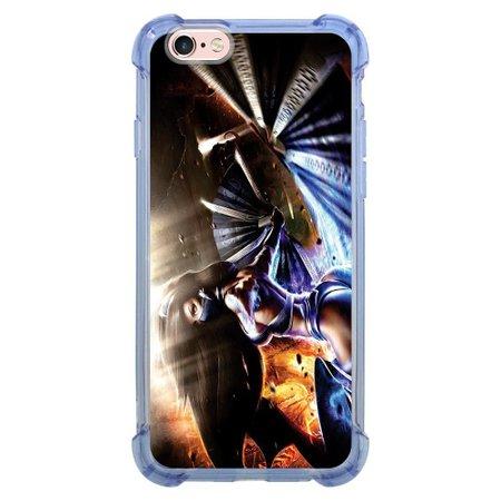 Capa Intelimix Anti-Impacto Azul Apple iPhone 6 6s Games - GA14