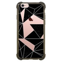 Capa Intelimix Anti-Impacto Grafite Apple iPhone 6 6s Abstrato - TP374