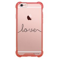 Capa Intelimix Anti-Impacto Rosa Apple iPhone 6 6s Frases - TP151