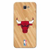 Capa de Celular NBA - Galaxy J7 Prime Chicago Bulls - B05