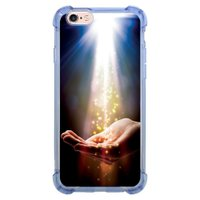 Capa Intelimix Anti-Impacto Azul Apple iPhone 6 6s Religião - RE09