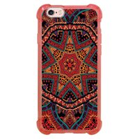 Capa Intelimix Anti-Impacto Rosa Apple iPhone 6 6s Mandala - AT85